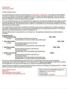 19 examples of sponsorship letters  word pdf google media sponsorship proposal template