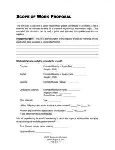 43 best job proposal templates free download  templatelab template for job proposal