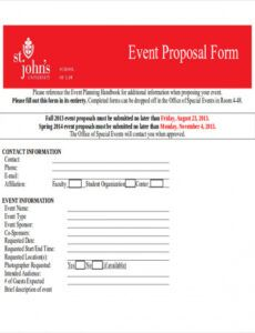 editable free 45 proposal form templates in pdf  ms word  excel event planner proposal template example