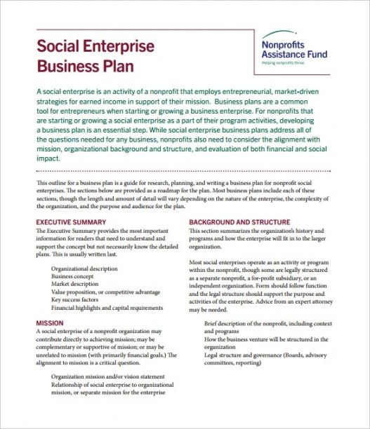 editable how to write a nonprofit business plan  5 best examples proposal template for non profit organization word