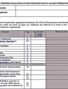 editable nonprofit business plan templates  room surf proposal template for non profit organization