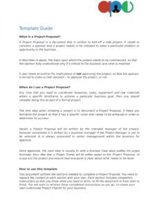 editable project proposal template  ape template proposal project word