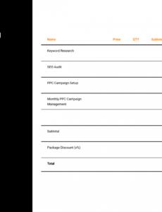editable proposals  digital marketing proposal template proposal template latex pdf