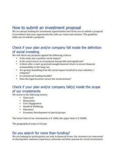 free 11 investment opportunity proposal templates in doc  pdf sample investment proposal template