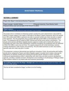 free 17 investment proposal templates  google docs word sample investment proposal template