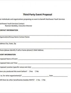 free 25 sample event proposal templates  psd pdf word event planner proposal template doc