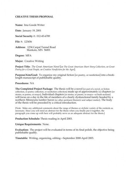 free english thesis proposal example  thesis title ideas for english research proposal template excel