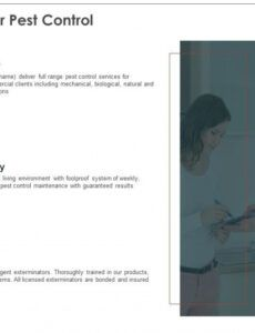 free pest control proposal template powerpoint presentation pest control proposal template doc