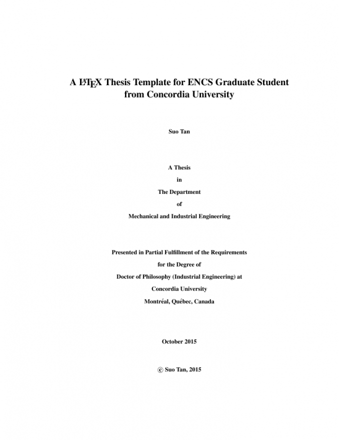 free title page thesis format  thesis title ideas for college proposal template latex word