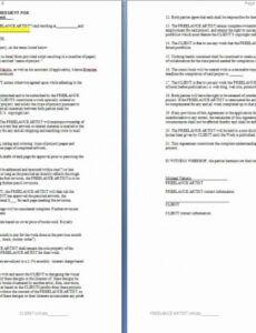 graphic design retainer agreement sample  lera mera graphic design retainer proposal template