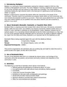 media sponsorship proposal  media proposal template media sponsorship proposal template doc