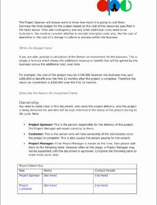 printable 10 project proposal templates  sampletemplatess proposal project template example