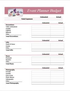 printabledocumentdoceventplannerbudget1 budget proposal template for an event doc