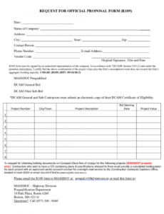 request for proposal template  free printable request for website request for proposal template