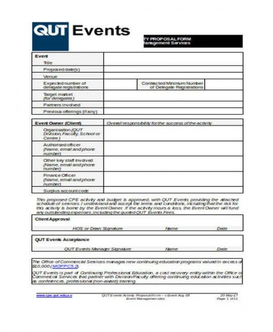 sample 10 corporate event proposal templates  word pdf apple event planner proposal template excel