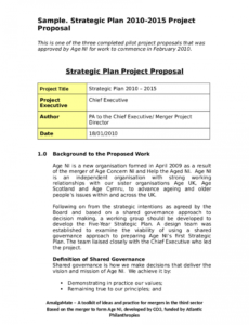 sample 2021 project proposal template  fillable printable pdf template proposal project