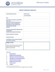 sample 43 professional project proposal templates  templatelab generic proposal template example