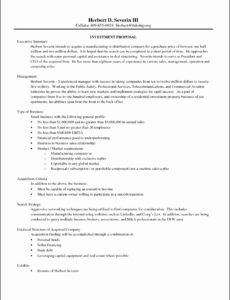 sample 8 investment proposal template  sampletemplatess sample investment proposal template pdf